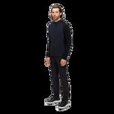 Alternate View 2 of Knit Hybrid Full Zip Jacket