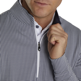 Alternate View 2 of Houndstooth Jacquard Quarter-Zip Pullover