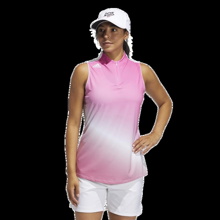 Primegreen Gradient Sleeveless Polo Shirt