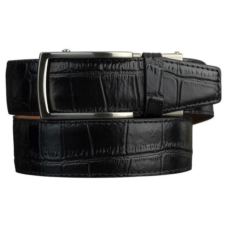 Alligator Black Dress Belt 2.0