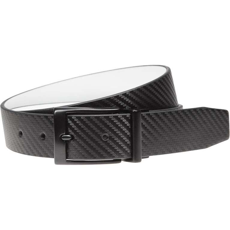 Carbon Fiber Texture Reversible Belt