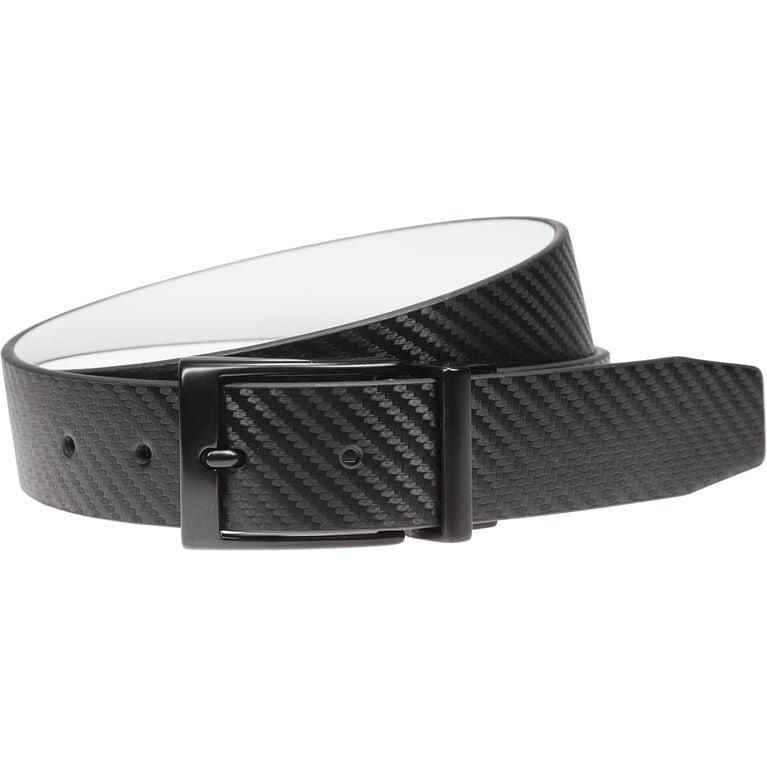 Carbon Fiber Texture Reversible Belt