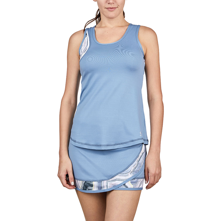 Bluemoon Collection: Printed Tennis Tank Top