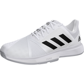 Alternate View 5 of CourtJam Bounce Men's Tennis Shoes - White/Black