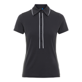 Alternate View 6 of Black and Blue Collection: Flor Trim Short Sleeve Polo