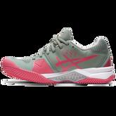 Alternate View 2 of Gel Challenger 12 Clay Women's Tennis Shoes - Grey/Pink