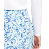 "Vineyard Vines 17"" Printed Scallop Skort"