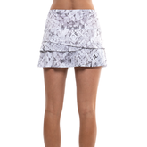 Alternate View 3 of Geo Scalloped Tennis Skirt