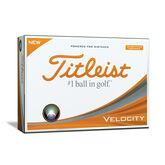 Titleist Velocity Double Digit Golf Balls - Visi White