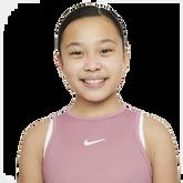 Alternate View 2 of Dri-FIT Victory Sleeveless Junior Girls' Tennis Tank Top