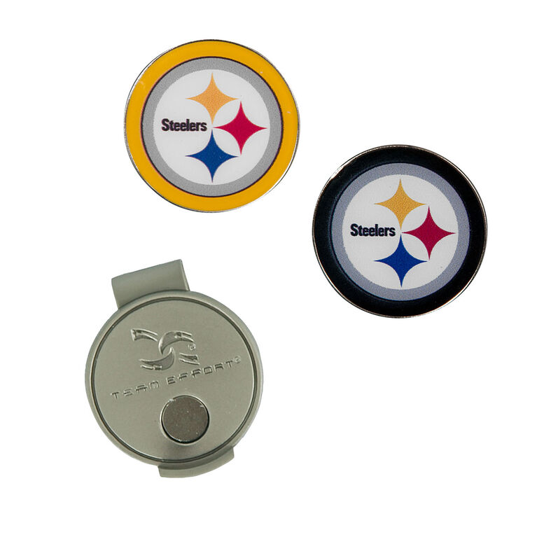 Team Effort Pittsburgh Steelers Hat Clip & Ball Marker