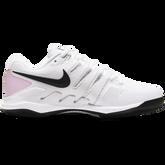 Alternate View 3 of Air Zoom Vapor X Women's Tennis Shoe - White/Pink