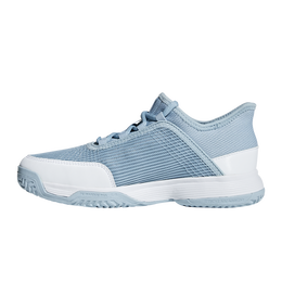 adizero Club Kids Tennis Shoe - Blue/White