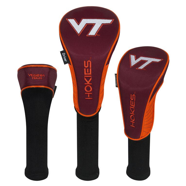 Team Effort Virginia Tech Hokies Headcover Set of 3