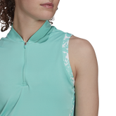 Alternate View 3 of Ultimate 365 Sleeveless Printed Trim Polo Shirt