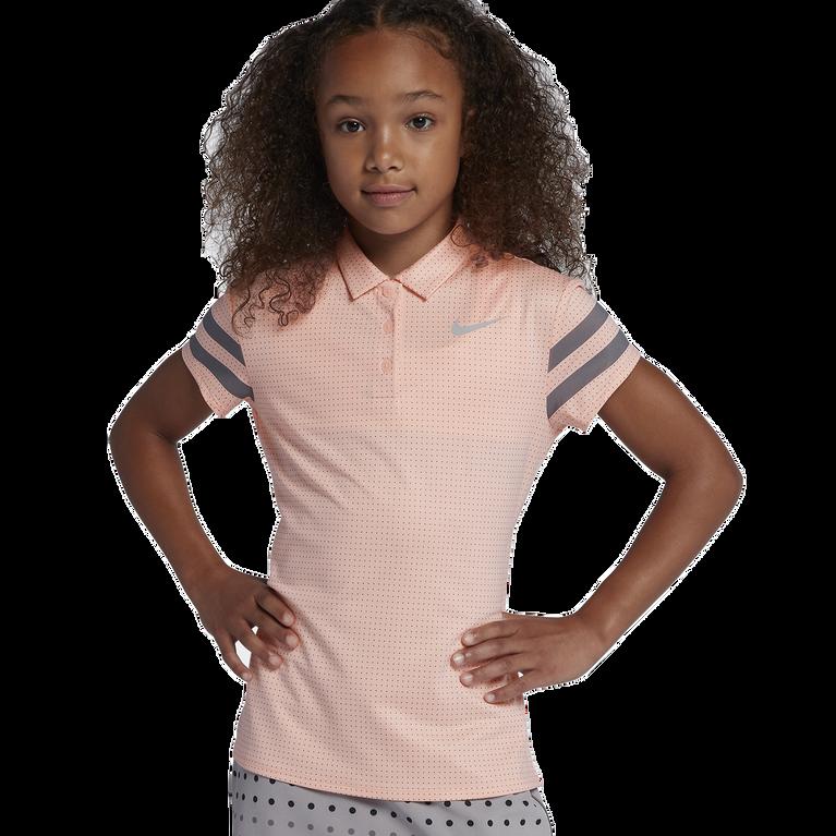 Nike Dry Girls' Printed Golf Polo