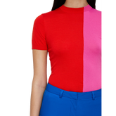 Alternate View 4 of Pink Group: Short Sleeve Hana Top