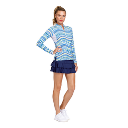 Ride the Wave Long Sleeve Quarter Zip Pull Over