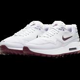 Alternate View 4 of Air Max 1 G Women's Golf Shoe - White/Purple
