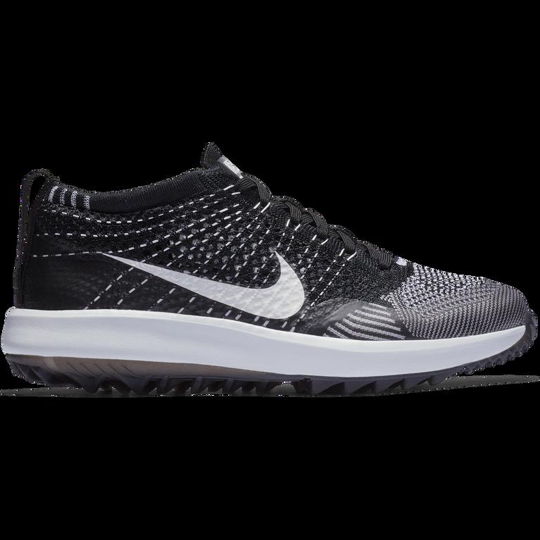 e4eab2ae7d6a Nike Flyknit Racer G Women  39 s Golf Shoe - Black White