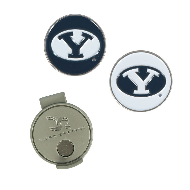Team Effort BYU Hat Clip