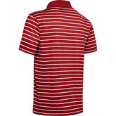 Alternate View 5 of Performance Textured Stripe Golf Polo Shirt
