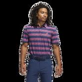 Painted Stripe Polo Shirt