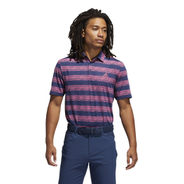 Painted Stripe Polo Shirt
