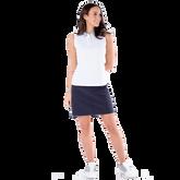 Alternate View 1 of Sportif Collection: Zebra Collar Sleeveless Polo Shirt