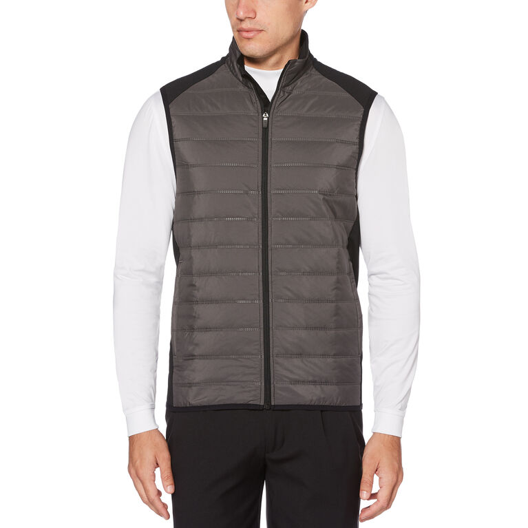 PGA TOUR Ultrasonic Quilted Full Zip Vest