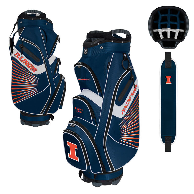 Team Effort Illinois Bucket II Cart Bag