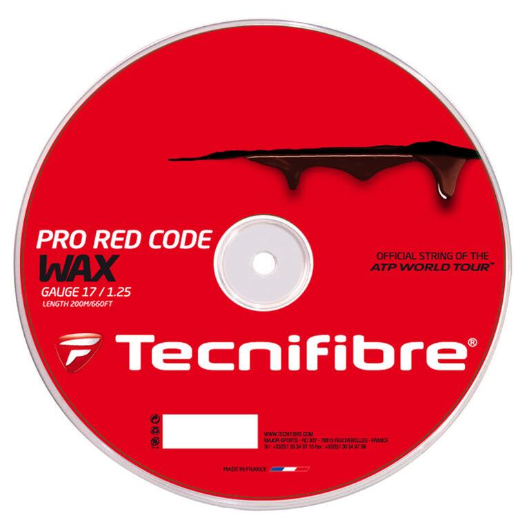 Tecnifibre Pro Redcode Wax 17 Gauge String Reel - Red