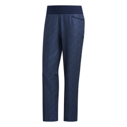 Classic Blues Collection: Zig-Zag Print Ankle Pant
