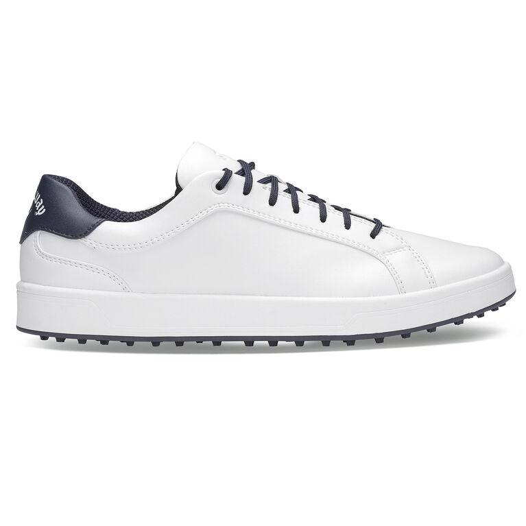 Del Mar Men's Golf Shoe - White/Navy