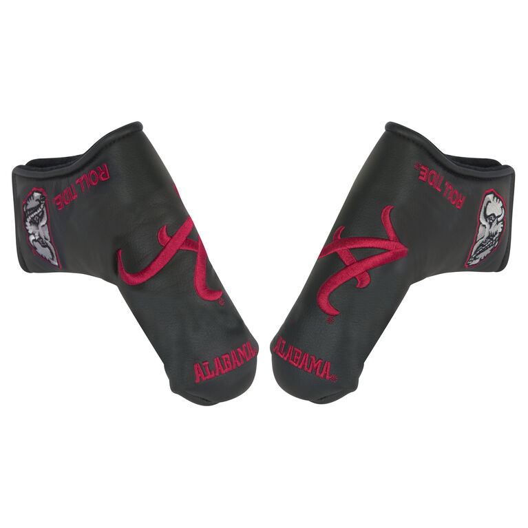 Team Effort Alabama Black Putter Cover
