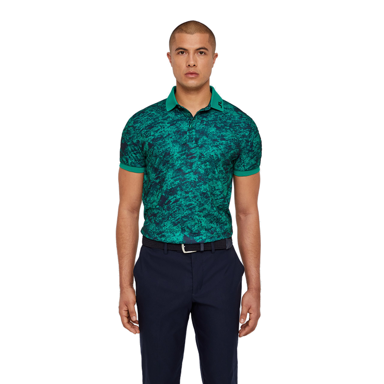 Tour Tech Regular Fit Camo Print Polo