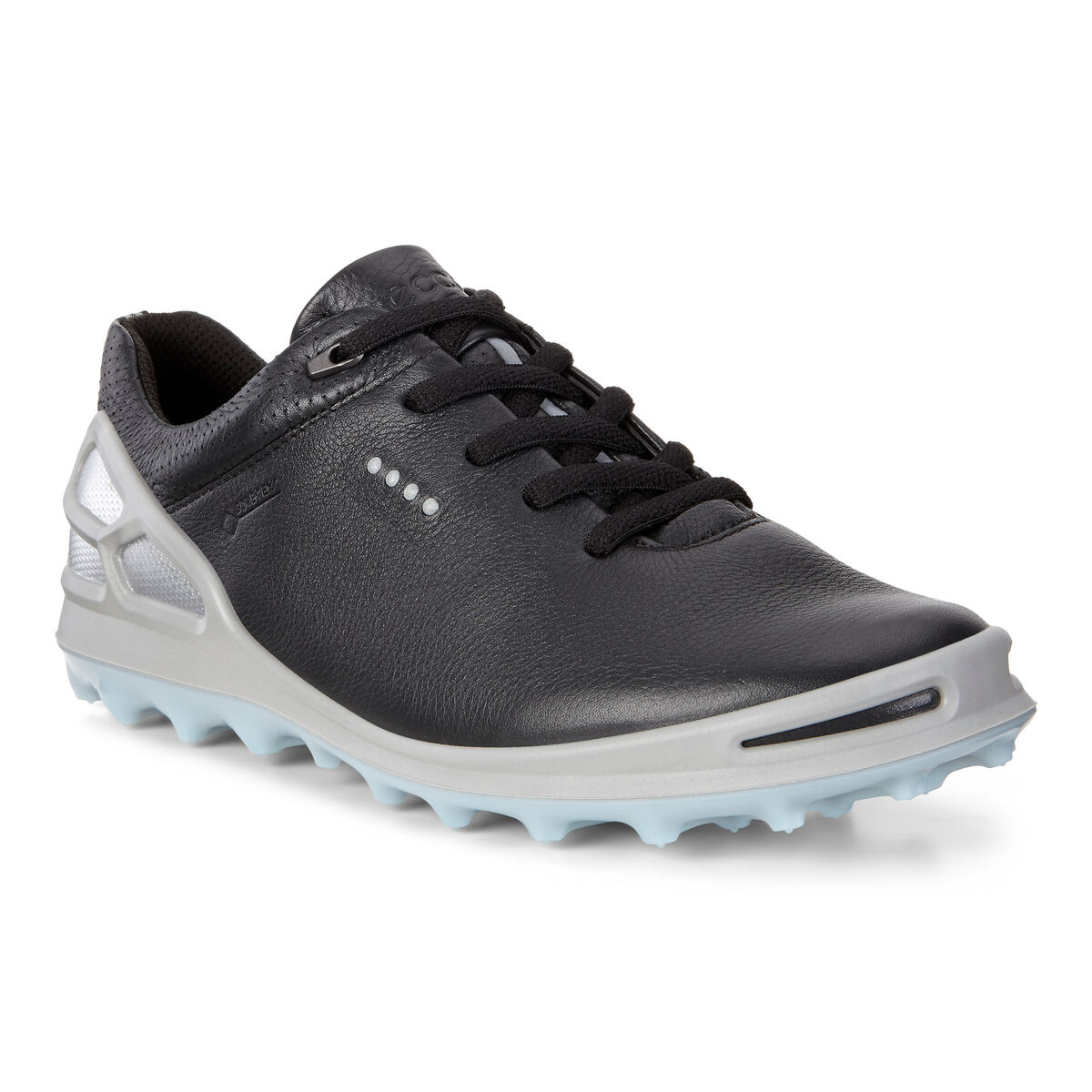946470a530ed ECCO Cage Pro GTX Women s Golf Shoe - Black Silver