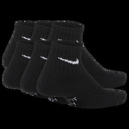 Nike Kids Performance Cushioned Quarter Training Socks (6 Pair)
