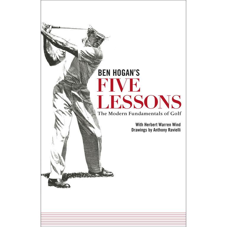 Ben Hogan's Five Lessons- Paperback