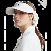Women's Bow Back Solid Golf Visor