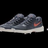 Air Zoom Prestige Women's Tennis Shoe - Grey/Orange