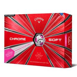 Callaway Chrome Soft Truvis Pink Golf Balls