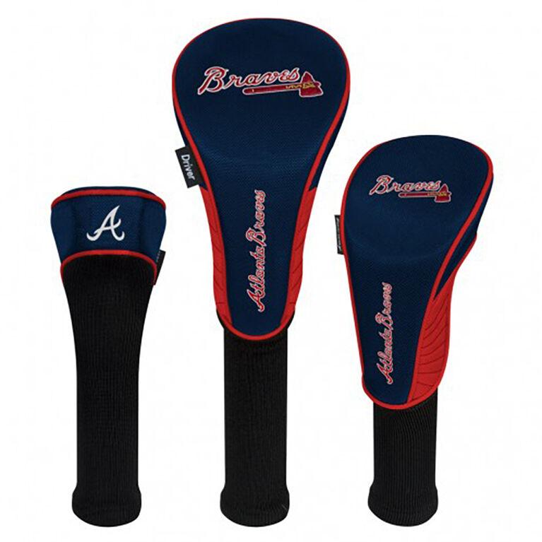 Atlanta Braves Set of 3 Headcovers