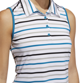Alternate View 4 of Ultimate365 Sleeveless Stripe Polo Shirt