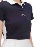 Alternate View 2 of Short Sleeve Contrast Collar Tech Polo