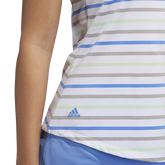 Alternate View 5 of Minted Blues Collection: Ultimate Stripe Sleeveless Polo Shirt