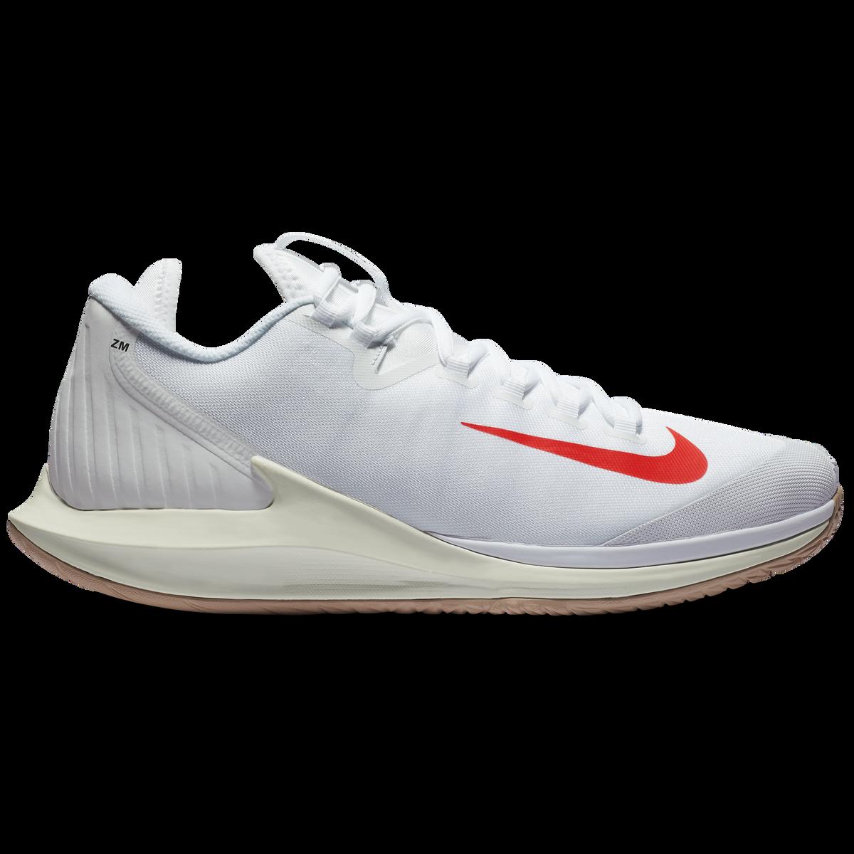 9c5a148738fc5 NikeCourt Air Zoom Zero Men s Tennis Shoe - White Red
