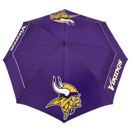 """Team Effort Minnesota Vikings 62"""" WindSheer Lite Umbrella"""
