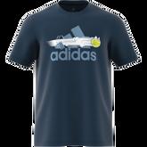Alternate View 6 of Men's Graphic Logo Tennis Tee Shirt