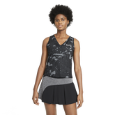 Victory Women's Printed Sleeveless Tennis Tank